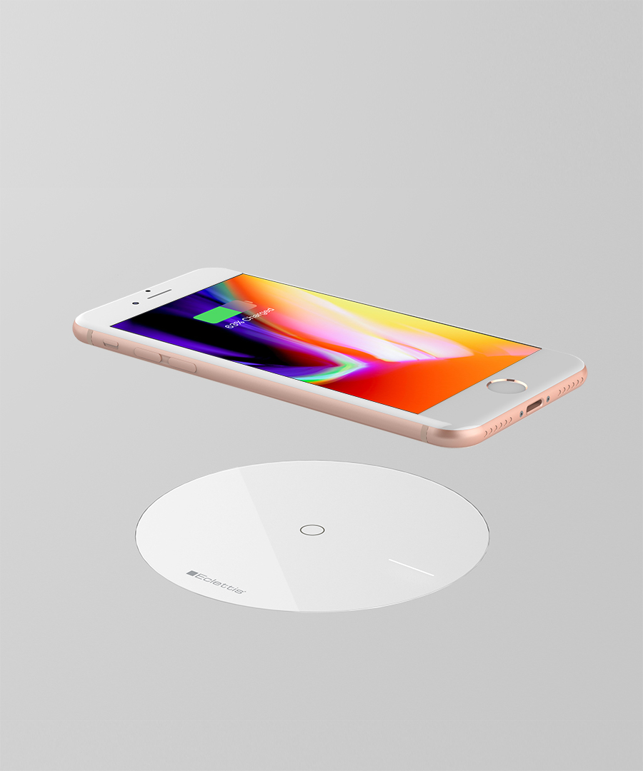 SOFTLINE - Flush tempered glass wireless charging system 6